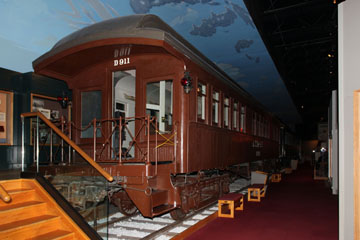 ATSF Drovers Car #D911, Kansas Museum of History