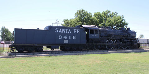 ATSF 3400 #3416, Great Bend
