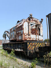 LN Wrecker Crane #40010, Kentucky Railway Museum