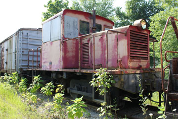 Unknown GE 44-Ton #1025, Kentucky Railway Museum