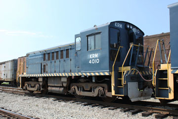 USA Baldwin RS-4-TC #4010, Kentucky Railway Museum