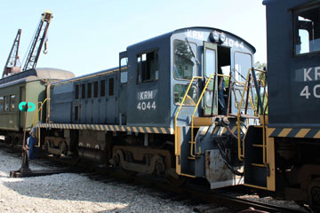 USAF Baldwin RS-4-TC #4044, Kentucky Railway Museum