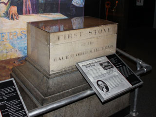 First Stone, B&O Museum