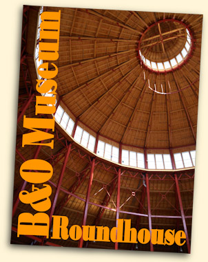 Roundhouse, B&O Museum, Baltimore, MD