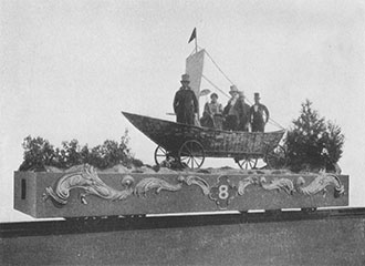 Fair of the Iron Horse, Sail Car