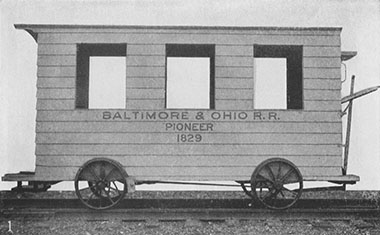 Fair of the Iron Horse, B&O Pioneer