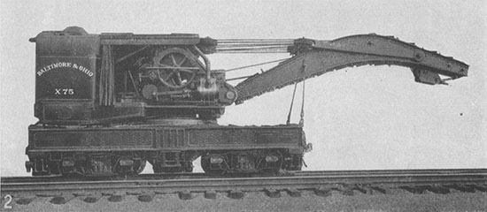 Fair of the Iron Horse, BO Steam Wrecking Crane X-75