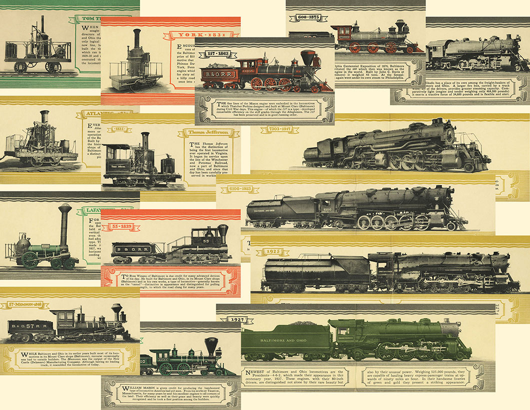 Fair of the Iron Horse, Postcards