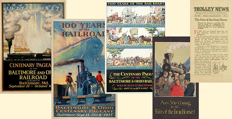 Fair of the Iron Horse posters