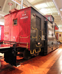 CP Snow Plow #400850, Henry Ford Museum