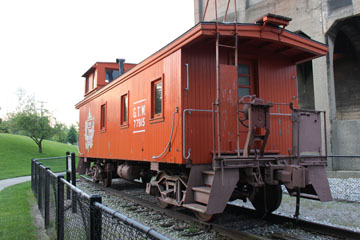 GTW Wooden Cupola Caboose #77915, Grand Haven