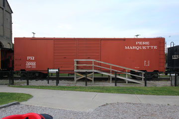 PM Auto Box Car #72222, Grand Haven