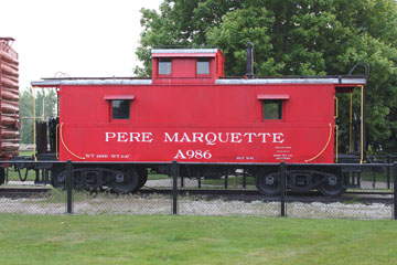 PM Steel Cupola Caboose #A986, Grand Haven