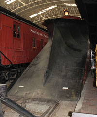 NP Wedge Snow Plow #19, Lake Superior Railroad Museum