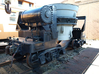 United States Steel-Duluth Works Ladle Car #6, Lake Superior Railroad Museum
