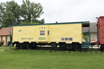 CNW Caboose #10924, Currie