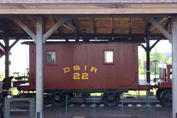 DIR Caboose #22, Two Harbors