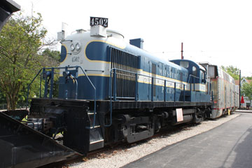 MP Alco RS-3 #4502, St. Louis Museum of Transportation