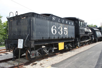 St. Louis, Iron Mountain & Southern #635, St. Louis Museum of Transportation