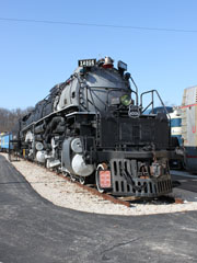 UP Big Boy #4006, St. Louis Museum of Transportation