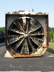 UP Rotary Snow Plow #900081, St. Louis Museum of Transportation