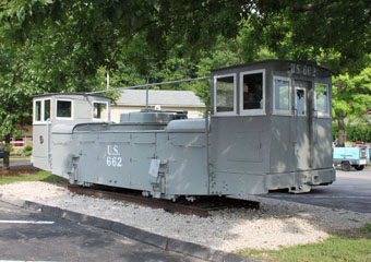 Panama Canal Company #662, St. Louis Museum of Transportation