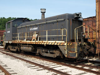 USA EMD SW8 #2002, St. Louis Museum of Transportation