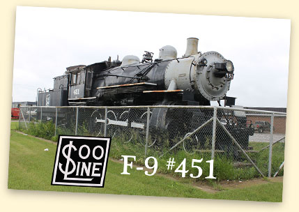 SOO F-9 #451, New Town, ND