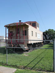 Union Pacific Caboose #25441, Hastings