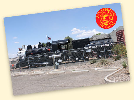 SP S-10 #1221, Visitors Center, Deming, NM