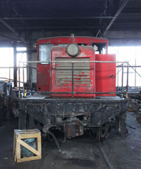 SS GE 45 Ton #4501, Northern Nevada Railway Museum