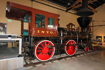 VT #22 Inyo, Nevada State Railroad Museum