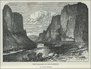 Palisades on the Humboldt, Williams, Pacific Tourist
