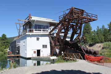Sumpter Dredge, Sumpter
