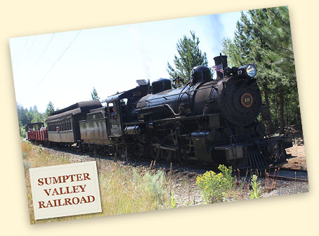 Engineer for a Day, Sumpter Valley Railway, OR