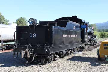Sumpter Valley Railway #19, McEwan