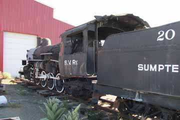 Sumpter Valley Railway #20, McEwan
