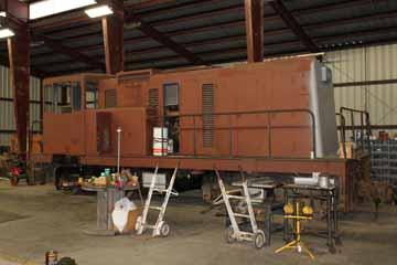Sumpter Valley Railway GE 50-Ton #720, McEwan