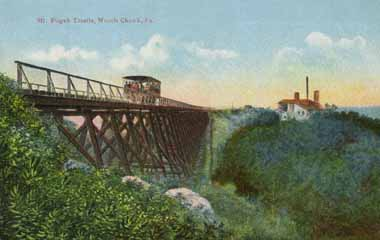 Mt Pisgah Trestle, Mauch Chunk Switchback
