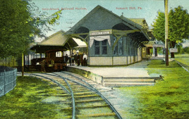 Summit Hill Depot, Mauch Chunk Switchback