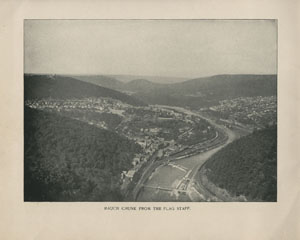 Mauch Chunk from the Flag Staff, The Switzerland of America