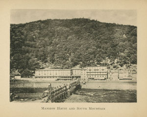Mansion House and South Mountain, Souvenir of Mauch Chunk