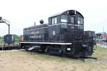 MP EMD NW2 #81, Railroad Museum of Pennsylvania