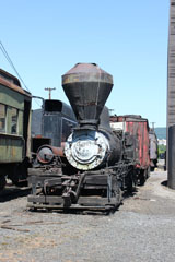 Meadow River Lumber #1, Steamtown