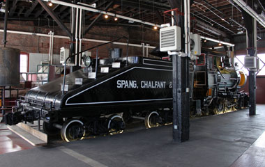 Spang, Chalfont #8, Steamtown