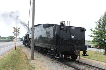 SRC #90 ex-Great Western of Colorado #90, Strasburg