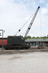 American 100 Ton Crane, Tennessee Valley Rail Road