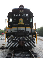 SOU EMD GP30 #2594, Tennessee Valley Rail Road