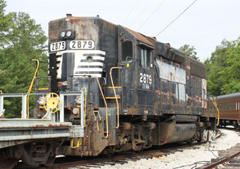 SOU EMD GP38 #2879, Tennessee Valley Rail Road