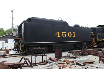 SOU Ms #4501, Tennessee Valley Rail Road